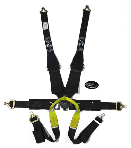 Picture of Velo Single Seater HANS 6pt Harness