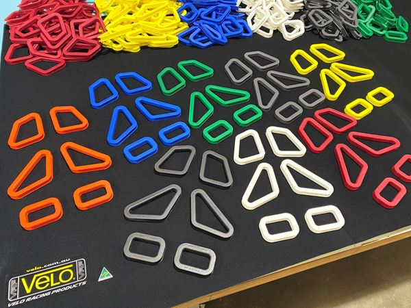 Picture of Coloured Seat Harness Guides