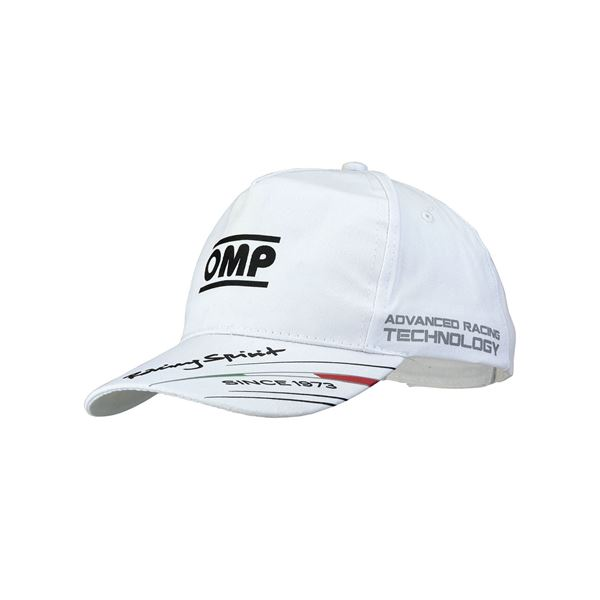 Picture of OMP Racing Spirit Cap - White