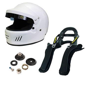 Picture of Velo Full Face Targa Helmet Schroth SHR FHR Package