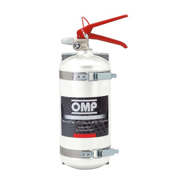 Picture of OMP Aluminium 2.4lt Hand Held Fire Extinguisher CBB/351